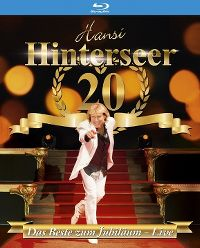 Cover Hansi Hinterseer - 20 - Das Beste zum Jubiläum - Live [DVD]